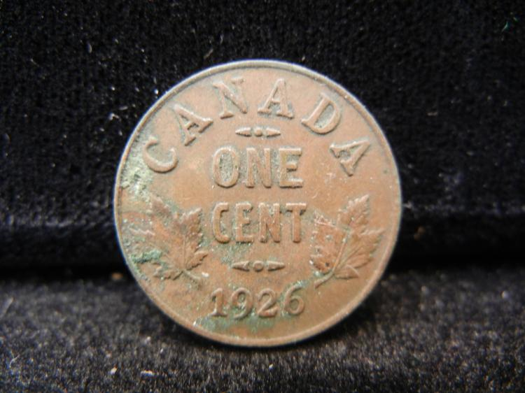 1926 Canadian Small Cent