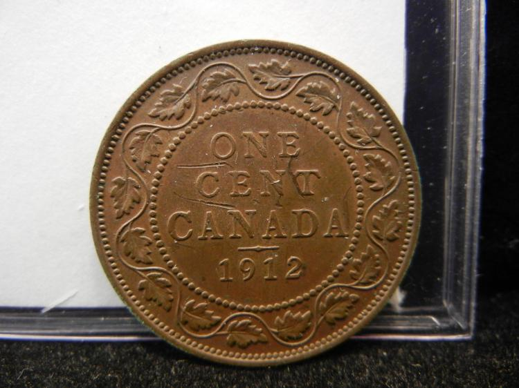 1912 Canadian Large Cent