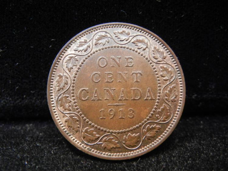 1913 Canadian Large Cent