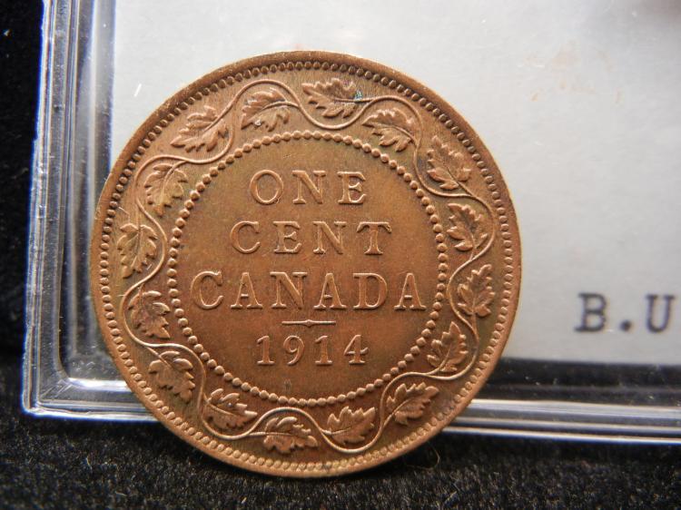 1914 Canadian Large Cent