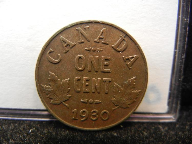 1930 Canadian Small Cent