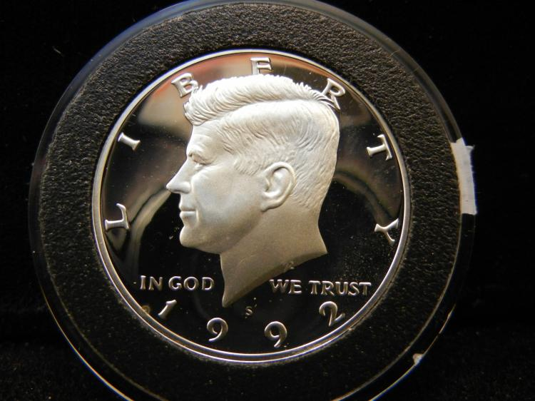 1992 S Kennedy Half Dollar Proof 90% SIlver