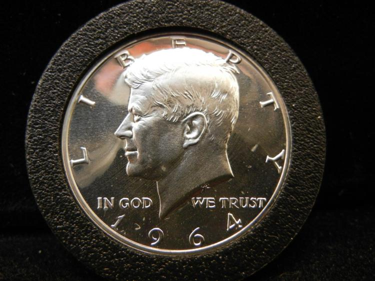 1964 Kennedy Half Dollar 90% Silver Proof