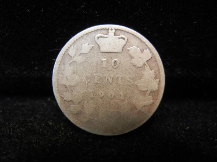 1901 Canadian 10 Cents
