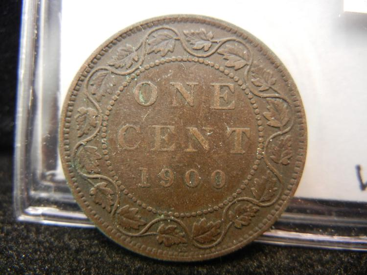 1900 H Canadian Large Cent