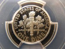2014 S Roosevelt 90% Silver Dime PCGS PR69 DCAM Forst Strike
