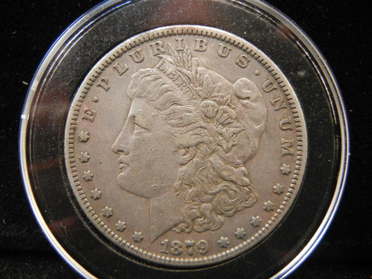 1879 S Morgan Silver Dollar