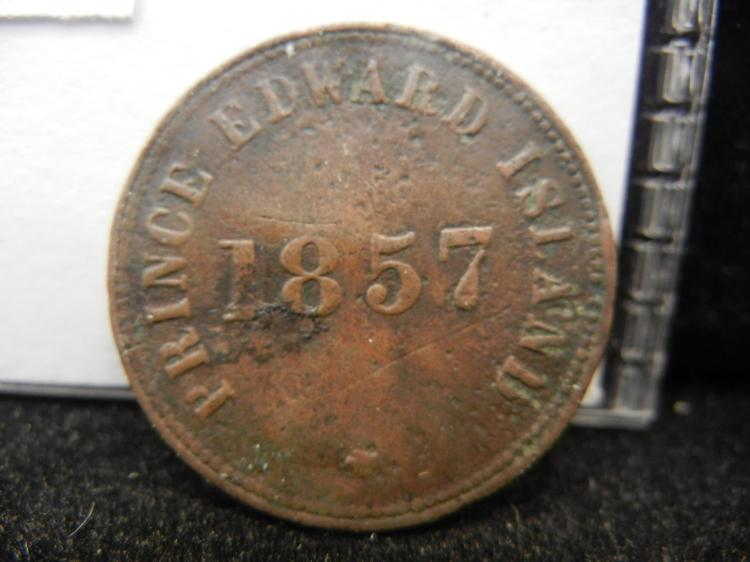 1857 Prince Edward Island Self Government and Free Trade Token