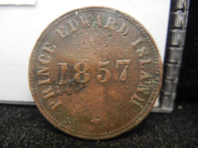 1857 Prince Edward Island Self Government and Free Trade Token