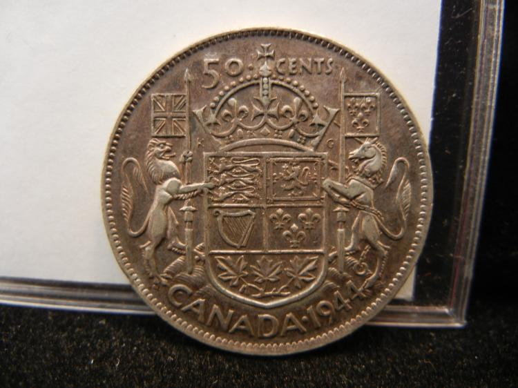 1944 Canadian 50 Cents