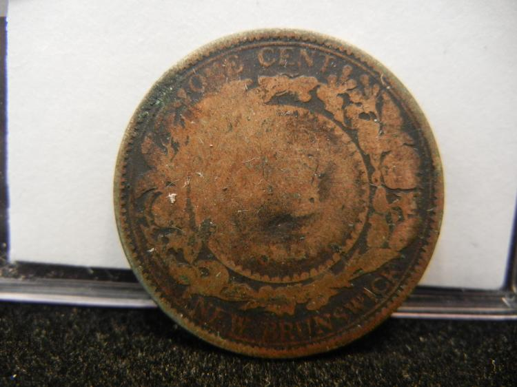 1861 New Brunswick One Cent