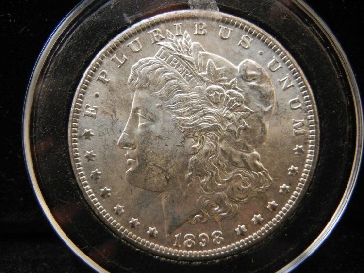 1898 O Morgan Silver Dollar