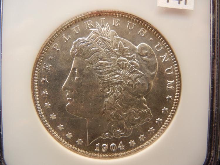 1904 O Morgan Silver Dollar NGC MS64