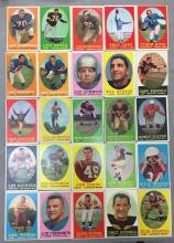 Lot of 25 1958 Topps Football Cards - Low Grade Condition - writing on fronts of most - Art Donovan, Chuck Bednarik