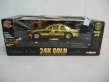 Nascar Racing Champions 1:24 Scale 24K Gold Plated Precious Metals Series #1G  #4 Kodak Nascar   NIB