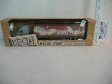 Ertl Collectibles Hershey's Tractor Trailer 1/64 Scale  NIB
