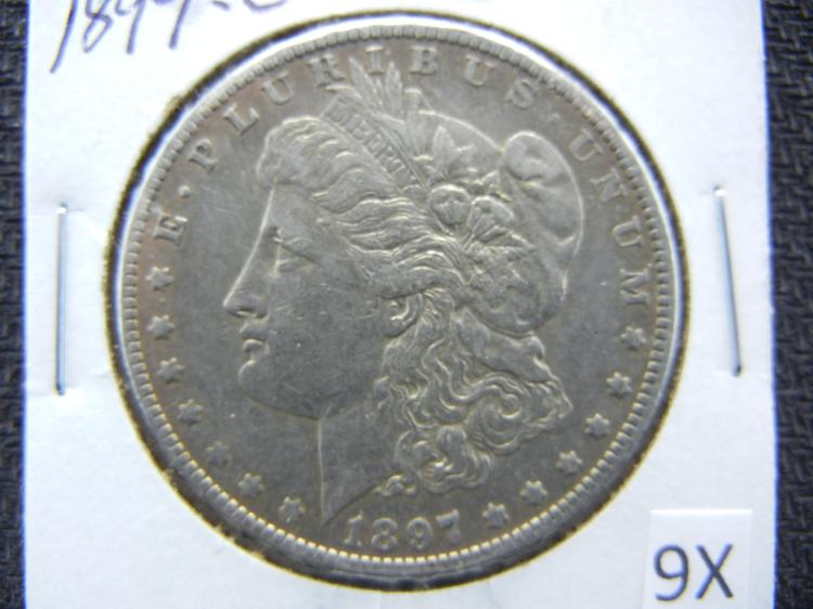 1897-O Morgan Dollar
