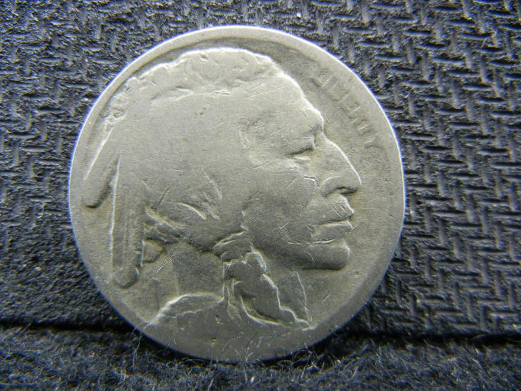 1914-S Buffalo Nickel.