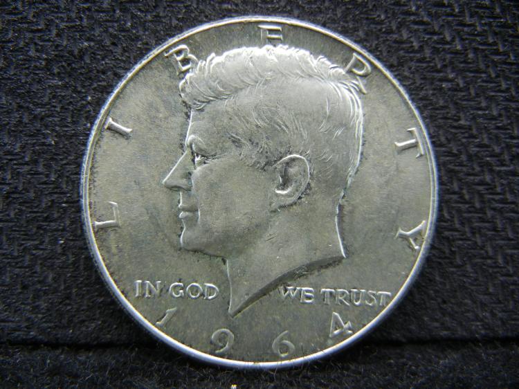 1964 Kennedy Half Dollar - SILVER - Proof