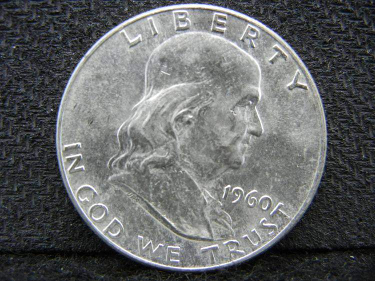 1960 Franklin Half Dollar - SILVER