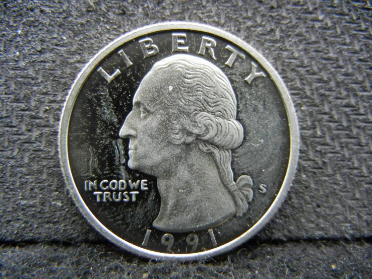 1991-S Washington Quarters - Proofs