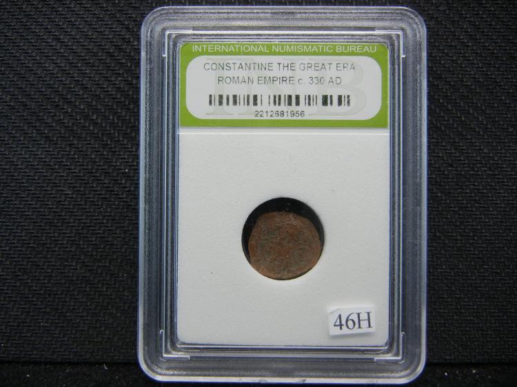 Constantine the Great Era Roman Empire 330ad Coin