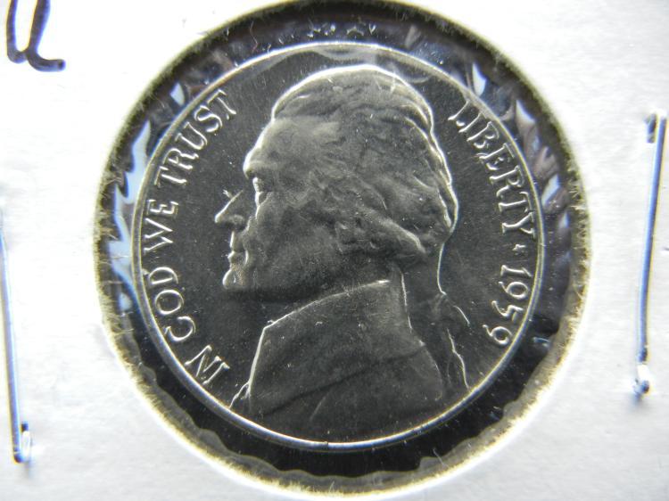 1959-D BU Jefferson Nickel