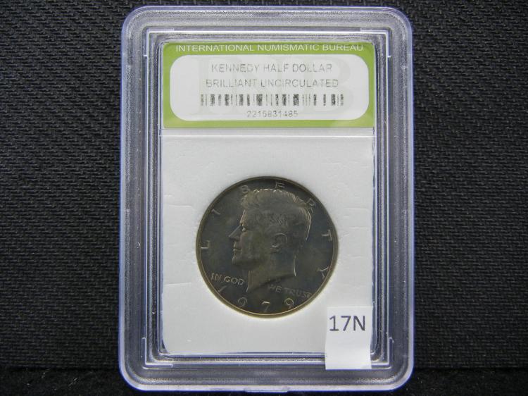 1979 BU Kennedy Half Dollar