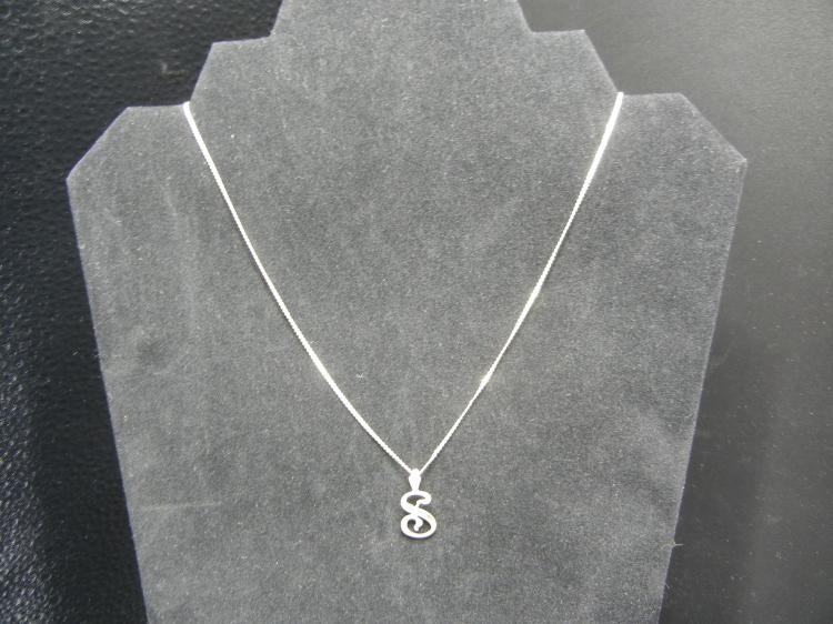 Sterling Silver Necklace w/