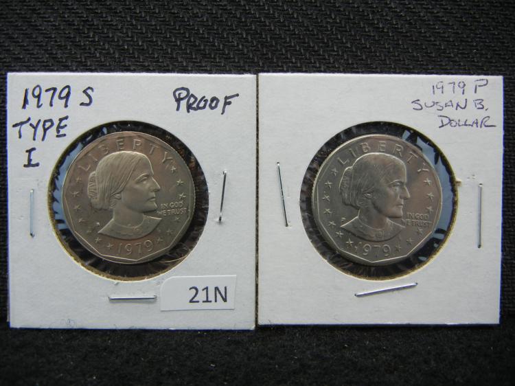 1979-P & S Susan B. Anthony Dollars