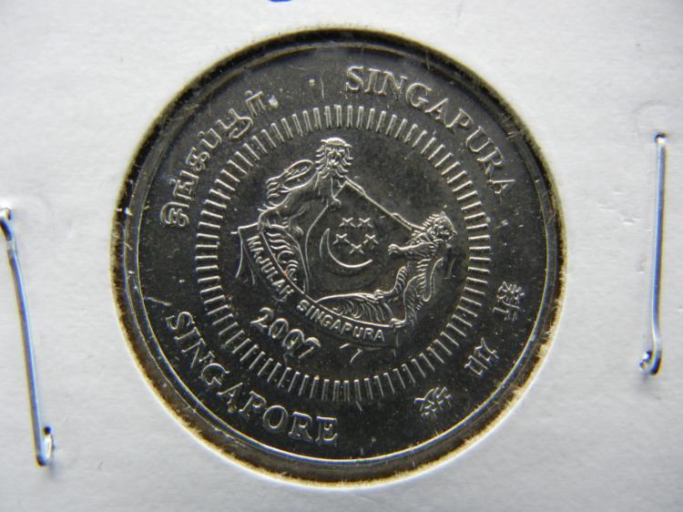 2007 Singapore 50 Cents
