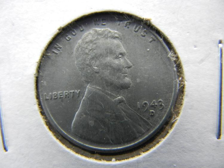 1943-D Lincoln Steel Cent