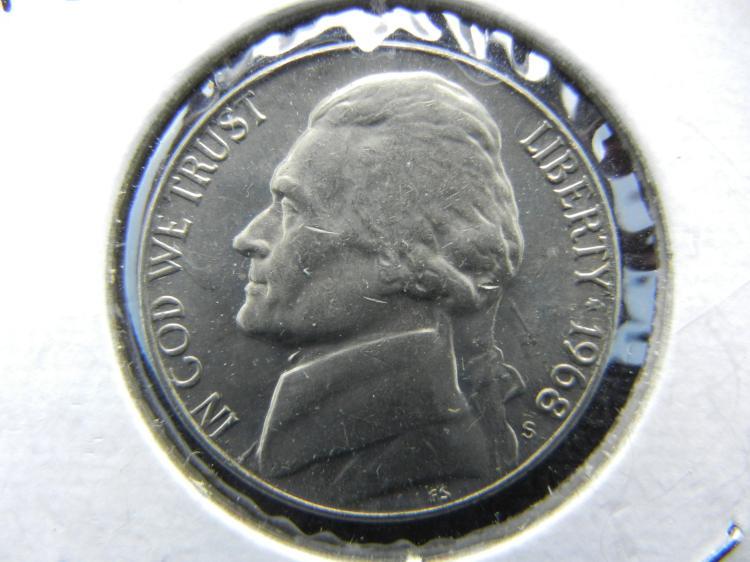 1968-S Jefferson Nickel