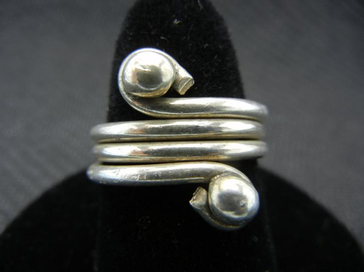 Sterling Silver Ring Size 6.5