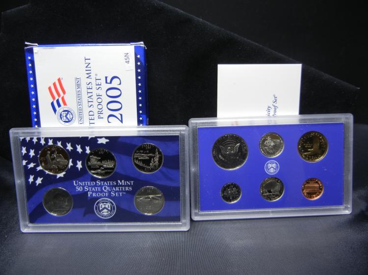 2005-S U.S. Mint Proof Set w/State Quarters