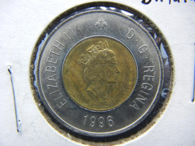 1996 Canadian $2 Coin