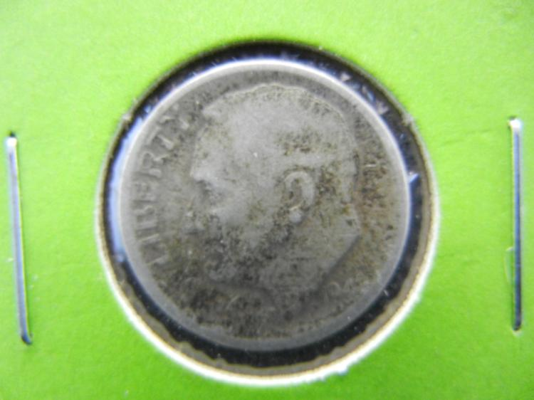 1946-D Roosevelt Dime - 90% Silver