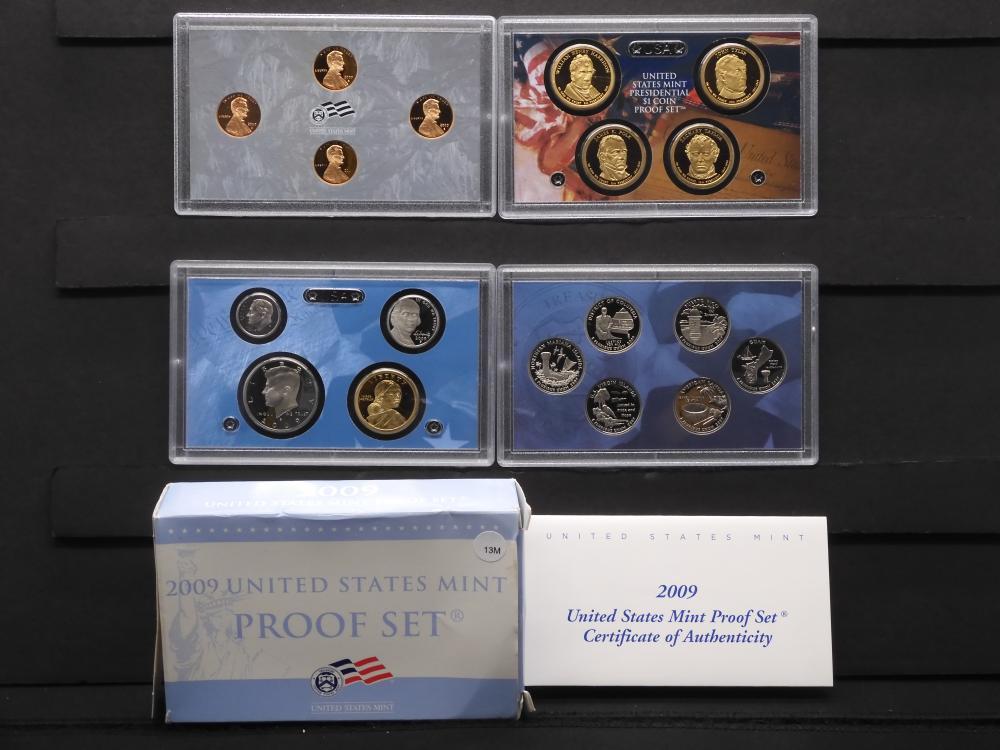 2009-S US Mint Proof Set