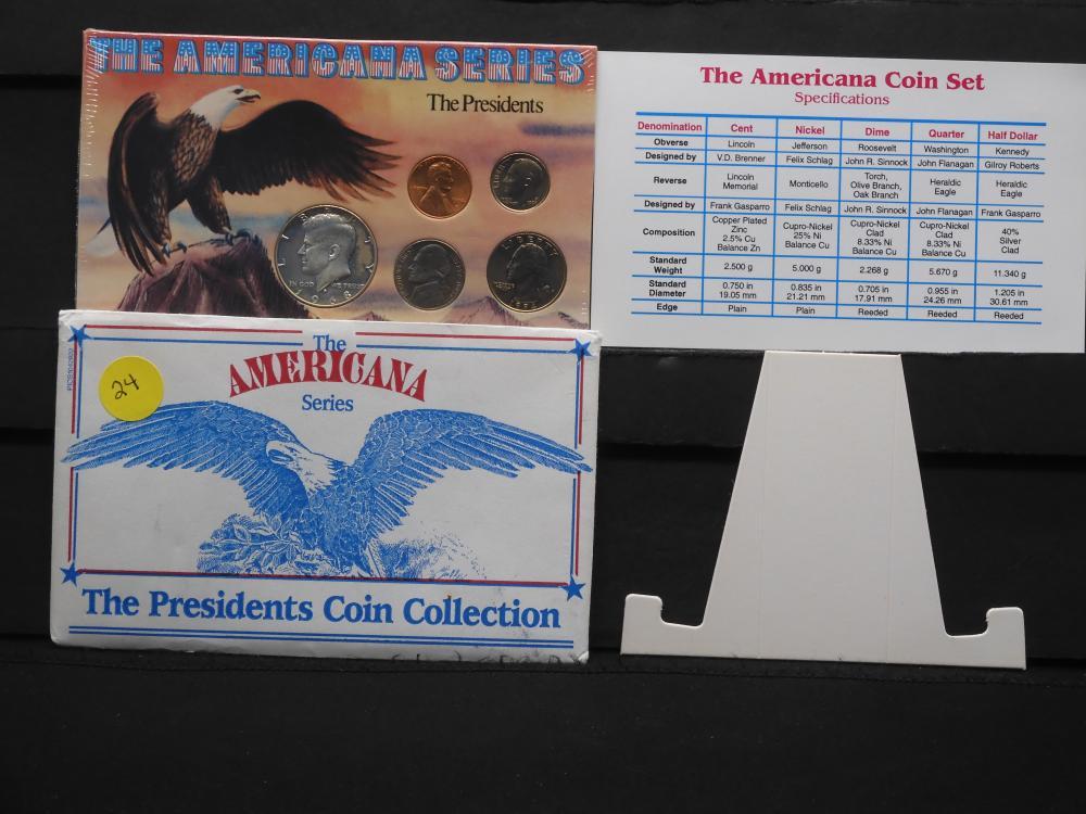 Presidential Coin Collection