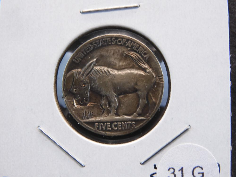 1929 HOBO Hand Caved Nickel - Neat Donkey