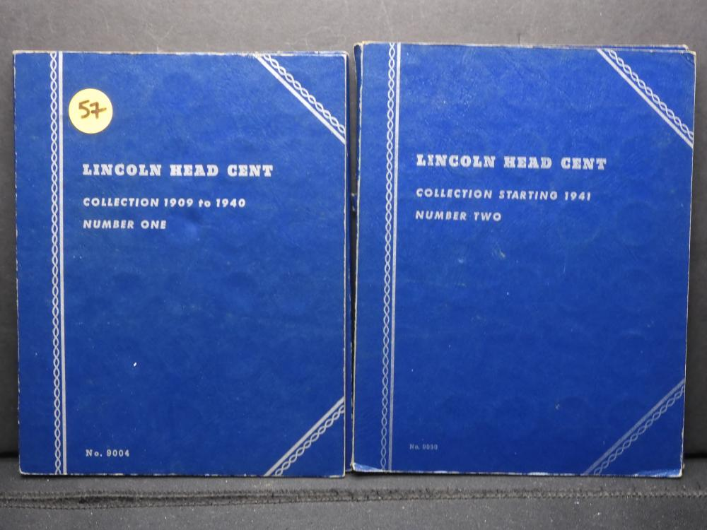 Nearly Complete Volume 1 & 2 - Wheat Penny Collection-122 Coins