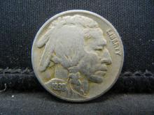 Lot 6K: 1938-D Buffalo Nickel.