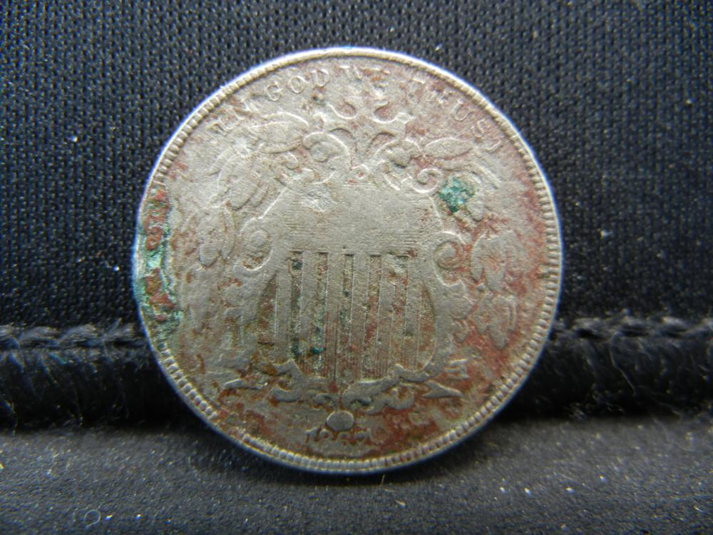 Lot 5K: 1867 Shield Nickel.