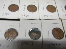 Lot 18K: 100 Lincoln Wheat Cents.