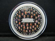 Lot 20K: 2009 Presidents of the United States Commemorative Medal.