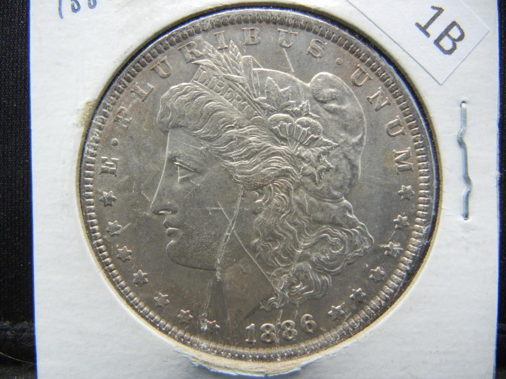 1886 Morgan Silver Dollar