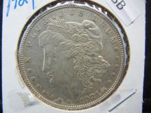 Lot 8B: 1921 Morgan Silver Dollar