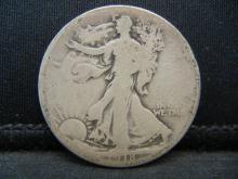 Lot 6B: 1918-S Walking Liberty Half Dollar