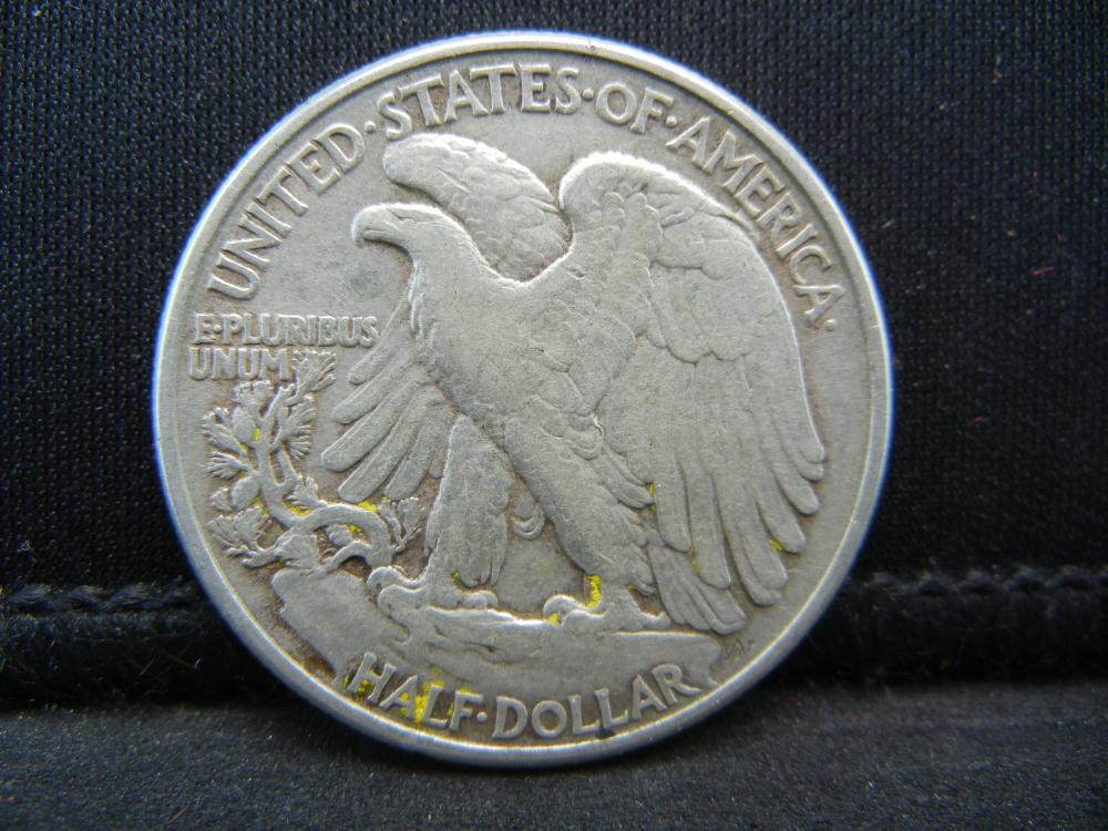 Lot 4B: 1945 Walking Liberty half Dollar