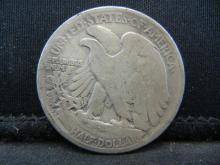 Lot 5B: 1918-S Walking Liberty half Dollar